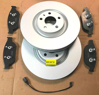 Picture of AUDI A6,A7,A8 FRONT BRAKE SET 423 A7 020